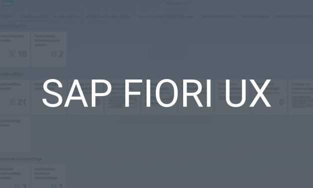 SAP Fiori UX – SAP neu erleben