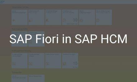 Vorteile von SAP Fiori im SAP HCM