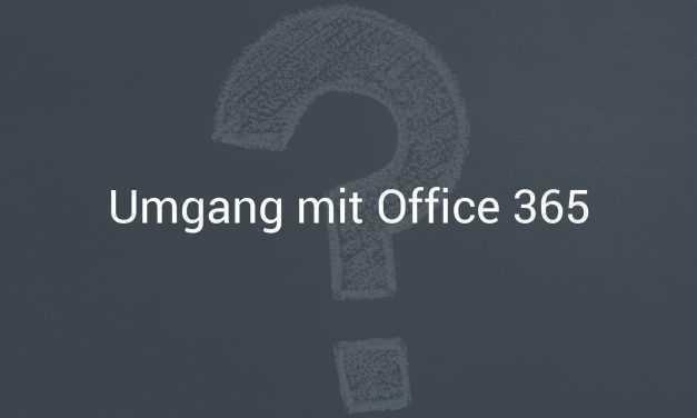 10 Tipps für den Umgang mit Microsoft Office 365