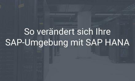 SAP HANA und Sybase – so verändert sich Ihre SAP-Systemlandschaft