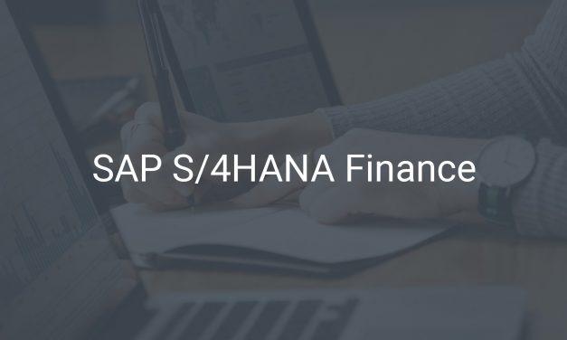 SAP S/4HANA Finance – Veränderungen für Ihr Finanzwesen und Controlling (FI/CO)