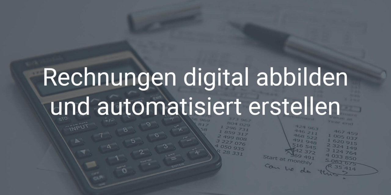 Rechnungen digital abbilden und automatisiert versenden direkt in SAP