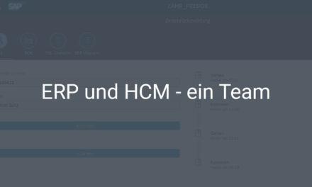 SAP ERP und SAP HCM im Zusammenspiel – für eine bessere Personenzeiterfassung und Betriebsdatenerfassung