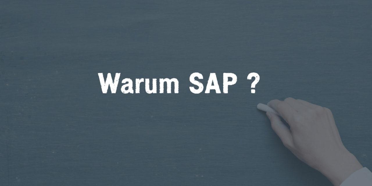 Warum SAP als ERP-System?