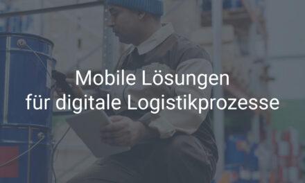 Mobile Lösungen für die Logistik in SAP