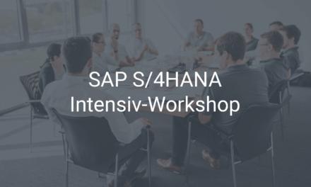 S/4HANA-Workshop – die Grundlage für eine SAP-Einführung und -Migration