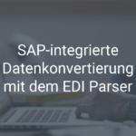 EDI Parser – schnelle SAP-integrierte elektronische Datenübertragung