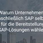 Warum Unternehmen, einschließlich SAP selbst, Azure für die Bereitstellung Ihrer SAP-Lösungen wählen
